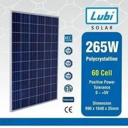Lubi Solar 265 W Polycrystalline Solar Module