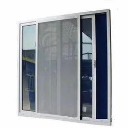 UPVC Mosquito Net Mesh Window, Glass Thickness: 5 Mm