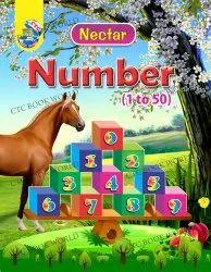 儿童英语花蜜计数1到50数学书,CTC