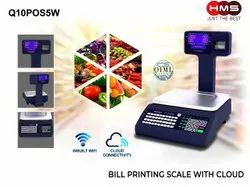 Q10POS5W Free Cloud Base Weighing With Billing