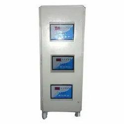7.5 kVA to 15 kVA Air Cooled Servo Voltage Stabilizer