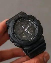 Digital Black Gshock GA-100CF-19ADR Watch