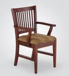 Brown Wooden Chair, Finish: Polished