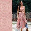 Digital Printed Ladies Suits Fabric