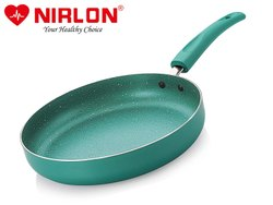 Nirlon Non-stick Fry Pan Galaxy Induction Base (Without LiD)