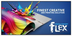 PVC Flex Board Printing Services, in India