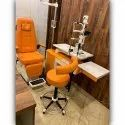 MS82 Ophthalmic Refraction Chair Unit Doctor Model