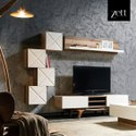 Wooden Design TV Unit