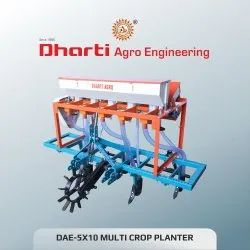 Mild Steel 5 Raw Maize Planter, For Agriculture