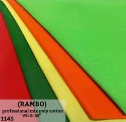 Rambo Mix Poly Cotton Shirting Fabric