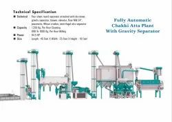 Fully Automatic Industrial Atta Chakki Plant