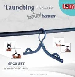Standerd Plastic Travel Hanger, Packaging Type: Box, Size: Comfort