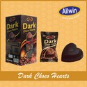 Dark Choco Hearts Candy