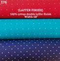 Laffer Finish 100% Cotton Double Laffer Print Shirting Fabric