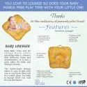 Portable Baby Lounger - For A Newborn Child