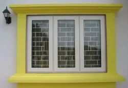 Aluminium Powder Coated Aluminum Casement Window, For Residential