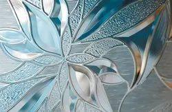 Saint Gobain Decorative Wall Glass, Thickness: 6 Mm