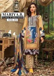 Mariya B Lawn Collection Vol 3 Pure Lawn Karachi Dress Material Catalog