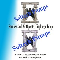 SS - Stainless Steel Air Operated Diaphragm Pump