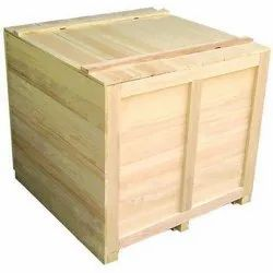 Pine wood Industrial Wooden Packaging Boxes, Weight Holding Capacity(Kg): >1000 Kg