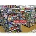 Free Standing Supermarket Display Rack