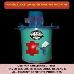 Paver Block Lacquer Making Machine