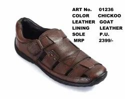 Brown Leather Shoes Manufacturer In Agra