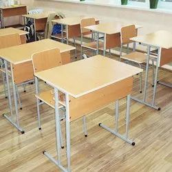 Institutional Furniture College Single Seater