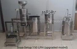 Semi Automatic Soya Milk Making Machines