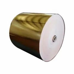 Printing After Lamination Gold / Silver Roll 12 , 100mtr