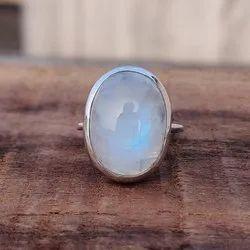 Silver 92.5 Moonstone Ring