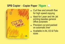 White SPB Copier Paper A4 70 Gsm, Packaging Size: 500 Sheets per pack