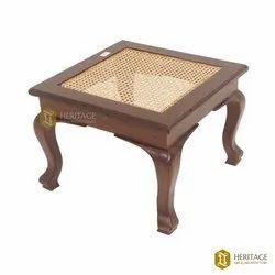 Brown Antique Wooden Teak Wood Coffee Table