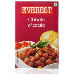 Spicy Everest Masala Powder Chhole 100g( Free Worldwide Shipping)., Packaging Type: Box