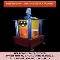 Interlocking Tiles Hardener Making