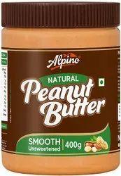 Alpino Natural Peanut Vegan Butter Smooth 400g(Free Worldwide Shipping).