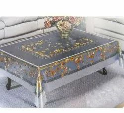 Rectangular PVC Table Cover, Size: 50 X 25 Inch (lxw)