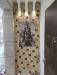 Vinyagar tiles with stone