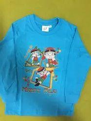 cotton Casual Wear THE FANCIER KIDS T-SHIRT, Size: 5-7 Years