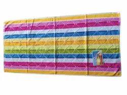 Sun Gold 6 color Multicolor Cotton Bath Towel, For rituals, Size: 27*54