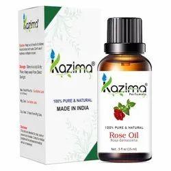 KAZIMA Rose Essential Oil - 100% Pure, Natural & Undiluted