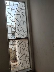 Hinged Printed Designer Window Glass