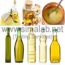 Edible Oils & Ghee Testing Services