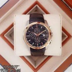 Round Tissot Wrist Watch