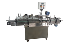 Automatic Cosmetic Bottle Front Back Labeling Machine