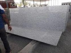 Block Jasmine White Granite Slab, Thickness: 15-20 mm