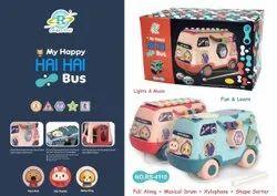 My Happy Hai Hai Musical  Bus Toy