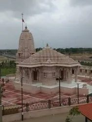 Light Pink Stone Temple, Size: 60 Inch (height)