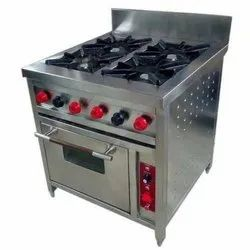 4 burner commercial gas stove price
