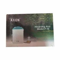 Axon Hearing Aid F 15
